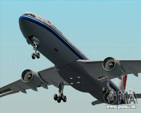 Airbus A330-300 Air China pour GTA San Andreas vue de dessus