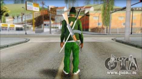 New CJ v6 pour GTA San Andreas deuxième écran