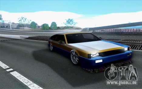 Blista By Next pour GTA San Andreas vue de droite