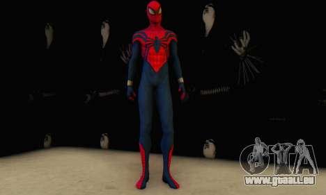Skin The Amazing Spider Man 2 - Suit Ben Reily pour GTA San Andreas troisième écran