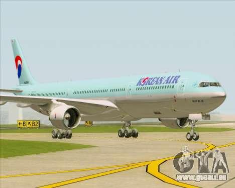 Airbus A330-300 Korean Air für GTA San Andreas zurück linke Ansicht