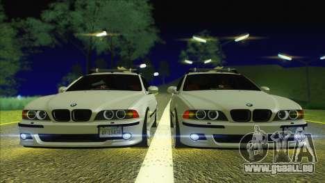 BMW M5 E39 2003 Stance pour GTA San Andreas vue de droite