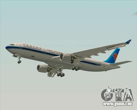 Airbus A330-300 China Southern Airlines pour GTA San Andreas vue intérieure