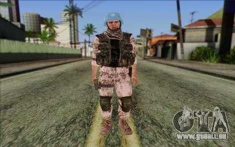 Tchèque Artisan De La Paix pour GTA San Andreas
