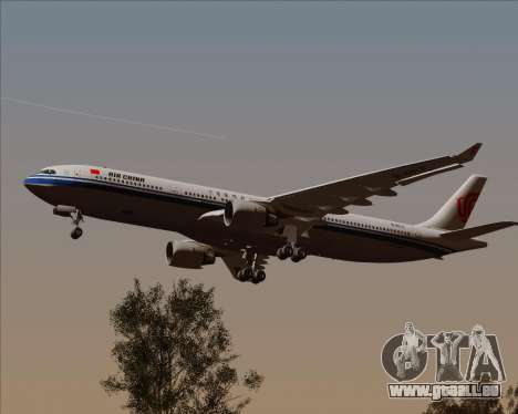 Airbus A330-300 Air China für GTA San Andreas Innenansicht