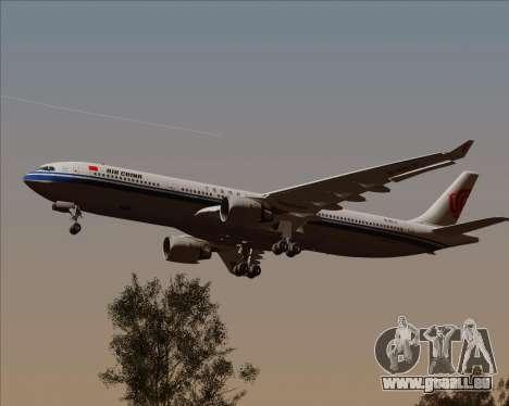 Airbus A330-300 Air China pour GTA San Andreas vue intérieure