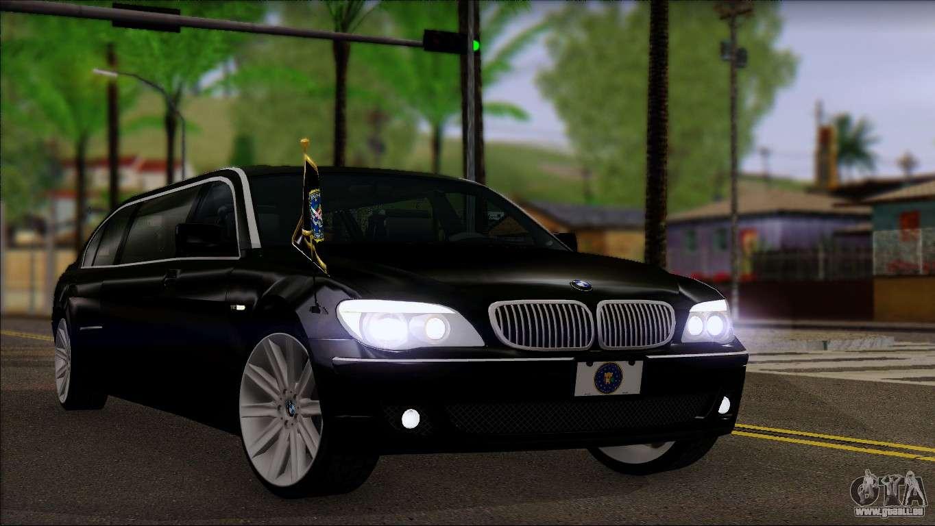 bmw e66 7 series limousine pour gta san andreas. Black Bedroom Furniture Sets. Home Design Ideas