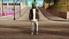 New Grove Street Family Skin v6 pour GTA San Andreas