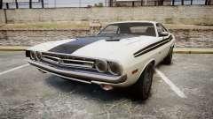Dodge Challenger 1971 v2.2 PJ1 pour GTA 4