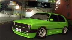 Volkswagen Golf Mk2 Zelengija pour GTA San Andreas
