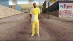New Grove Street Family Skin v4 pour GTA San Andreas