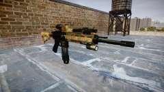 Automatische Gewehr Colt M4A1 Dschungel