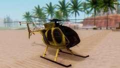 Le MD500E hélicoptère v2