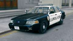Ford Crown Victoria LCPD [ELS] No Pushbar pour GTA 4
