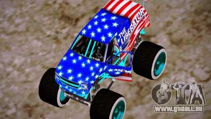 Liberator Online Version (American Flag) für GTA San Andreas