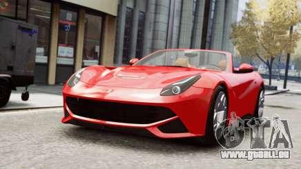 Ferrari F12 Roadster pour GTA 4