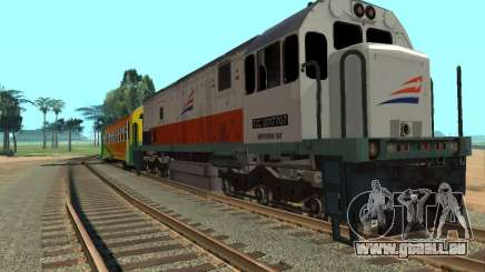 GE U18C CC 201 Indonesian Locomotive pour GTA San Andreas