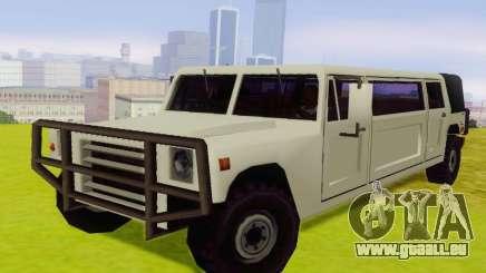 Patriot Limousine pour GTA San Andreas