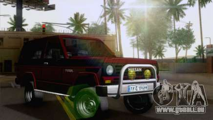Nissan Patrol 2 Door für GTA San Andreas