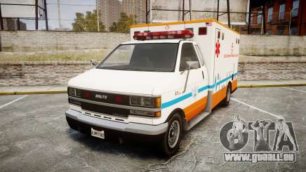 GTA V Brute Ambulance [ELS] pour GTA 4