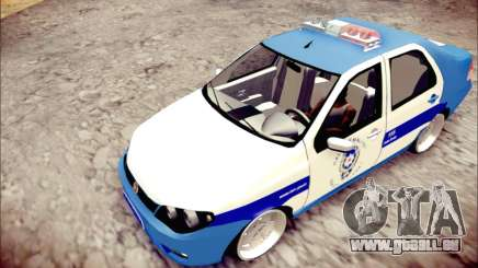 Fiat Albea Police Turkish pour GTA San Andreas
