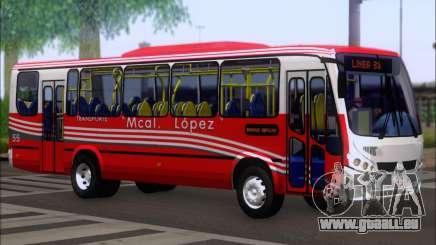 Neobus Spectrum Linea 38 Mcal. Lopez für GTA San Andreas
