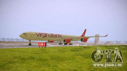 Airbus A340-600 Virgin Atlantic New Livery für GTA San Andreas