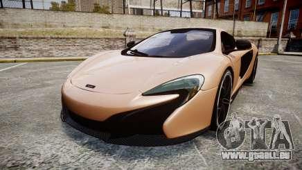 McLaren 650S Spider 2014 [EPM] Pirelli v1 pour GTA 4