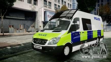 Mercedes-Benz Sprinter Police 2014 pour GTA 4