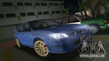Subaru Impreza WRX STI 2006 Type 1 pour GTA Vice City