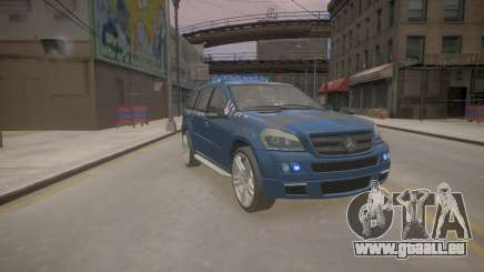 Mercedes-Benz GL450 AMG Police Interceptor 2013 pour GTA 4