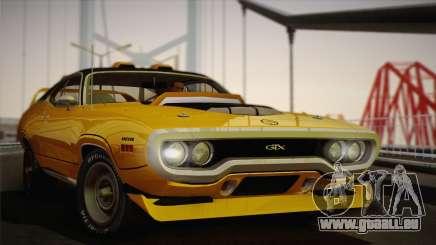 Plymouth GTX Tuned 1972 v2.3 pour GTA San Andreas