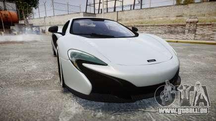 McLaren 650S Spider 2014 [EPM] KUMHO pour GTA 4