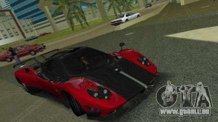 Pagani Zonda Cinque pour GTA Vice City
