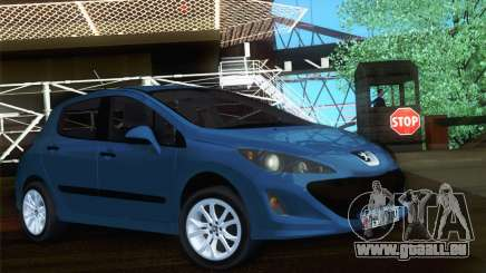 Peugeot 308 2010 pour GTA San Andreas