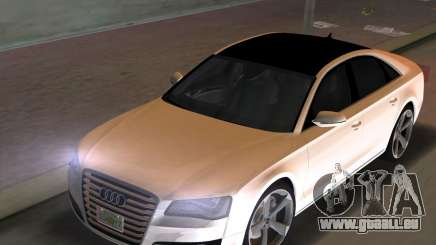 Audi A8 2010 W12 Rim3 pour GTA Vice City