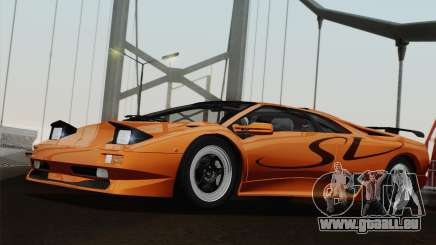 Lamborghini Diablo SV 1995 (ImVehFT) für GTA San Andreas