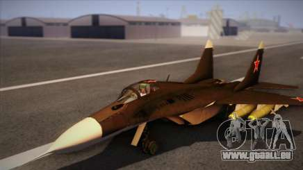 MIG 29 Russian Air Force From Ace Combat für GTA San Andreas