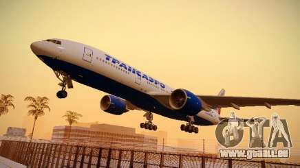 Boeing 777-212ER Transaero Airlines für GTA San Andreas