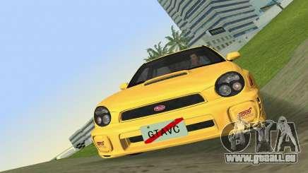 Subaru Impreza WRX 2002 Type 1 pour GTA Vice City
