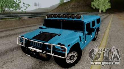 Hummer H1 Alpha 2006 Road version pour GTA San Andreas