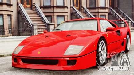 Ferrari F40 1987 für GTA 4