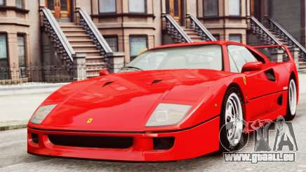 Ferrari F40 1987 pour GTA 4