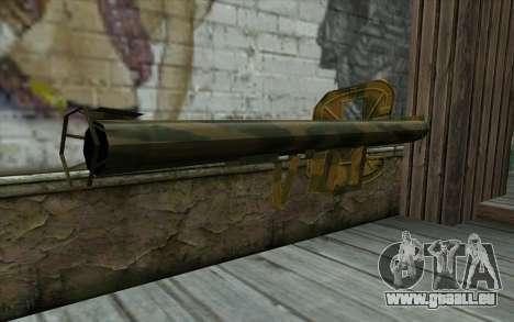 Panzerschreck à partir du Jour de la Défaite pour GTA San Andreas deuxième écran