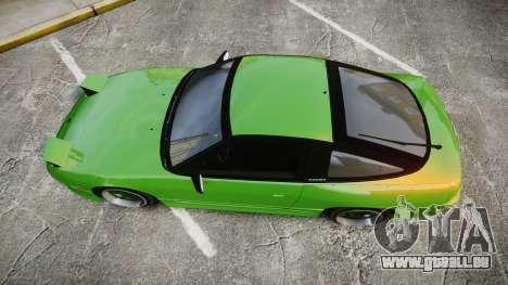 Nissan 240SX S13 Tuned für GTA 4 rechte Ansicht