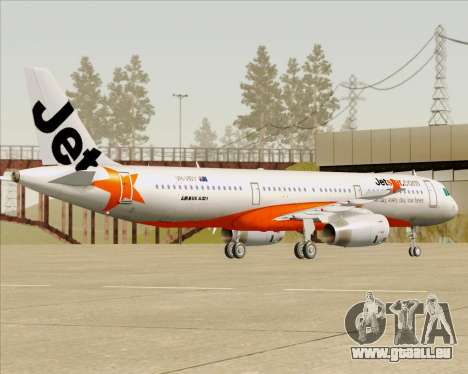 Airbus A321-200 Jetstar Airways pour GTA San Andreas