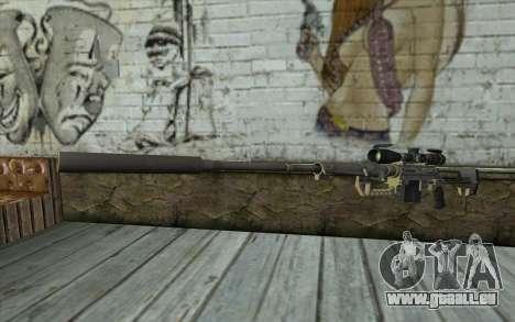 Fusil De Sniper Cheytac M200 Intervention pour GTA San Andreas
