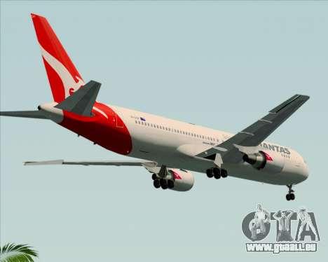 Boeing 767-300ER Qantas (New Colors) pour GTA San Andreas vue de droite