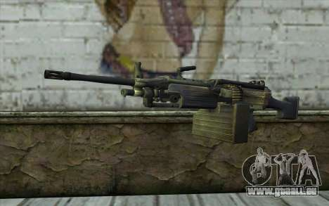 FN M249E2 SAW from SoF: Payback pour GTA San Andreas