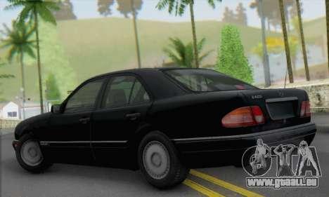 Mercedes-Benz E420 W210 pour GTA San Andreas laissé vue